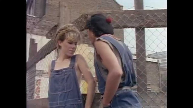 """still from the """"come on eileen"""" video"""