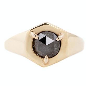 Hexagon Signet Ring