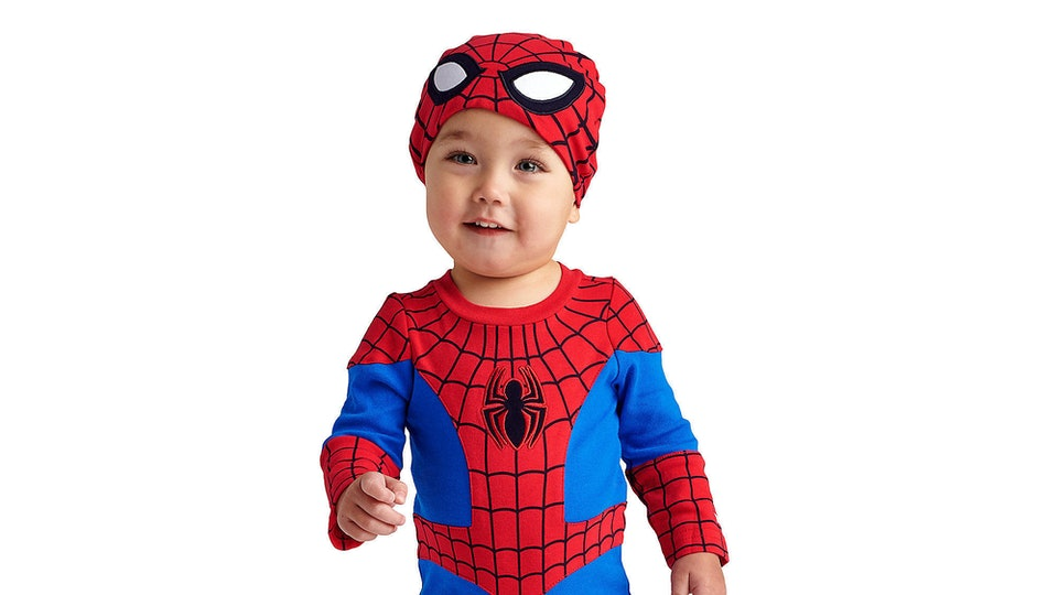 marvels halloween costumes for kids are at the disney store are super cute
