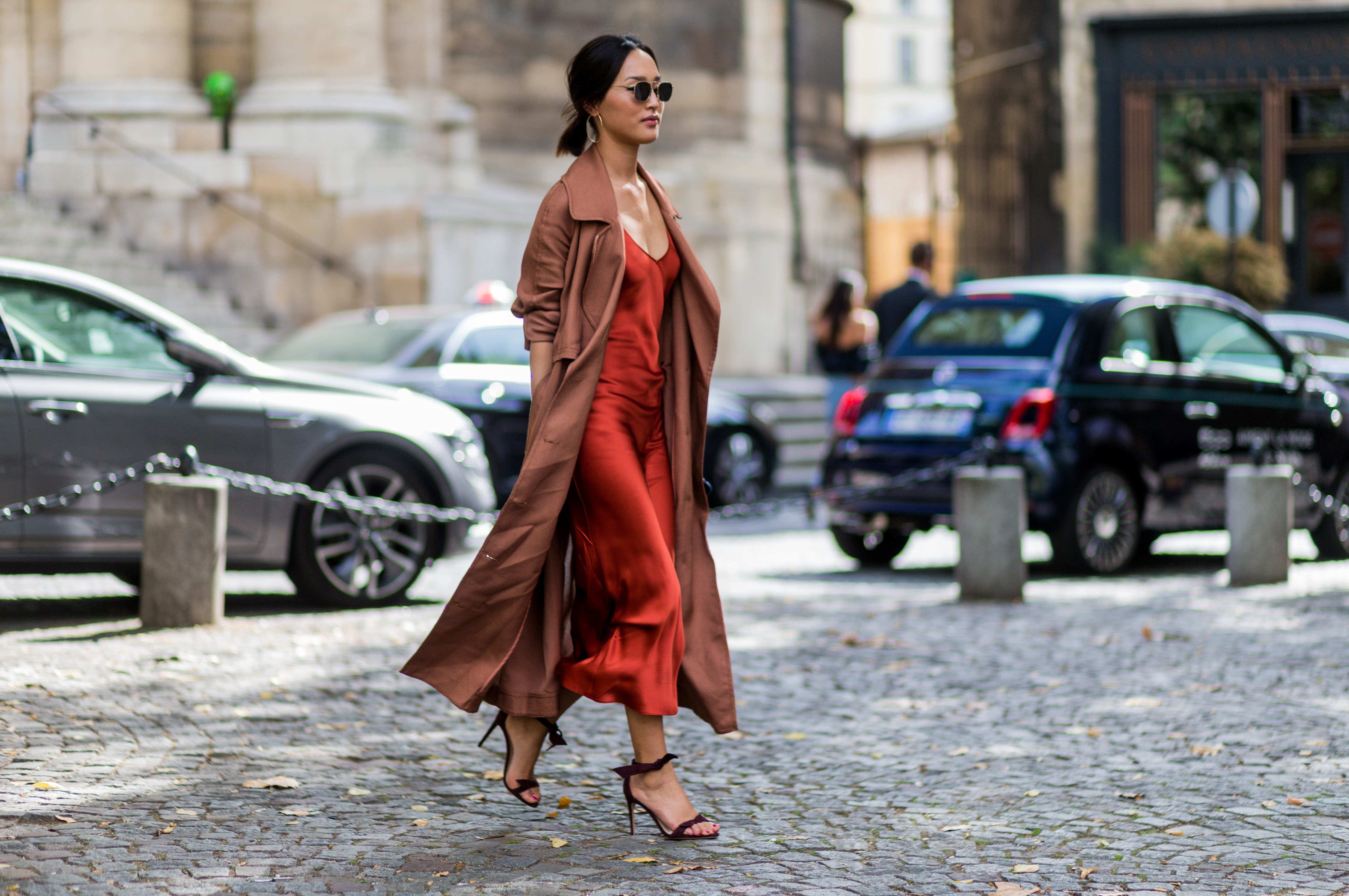 How To Wear A Slip Dress Every Day Of