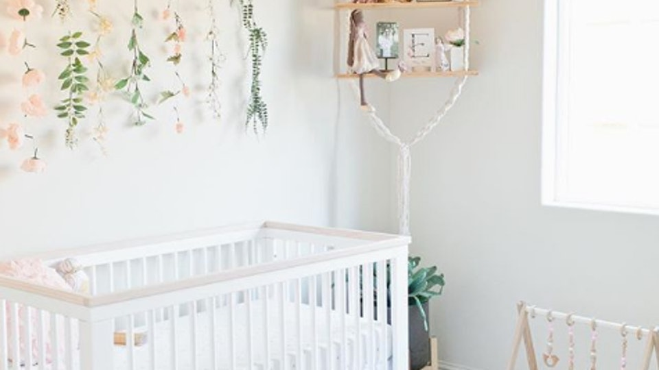 25 Flower Nursery Ideas To Craft The Floral Baby Room Of ...