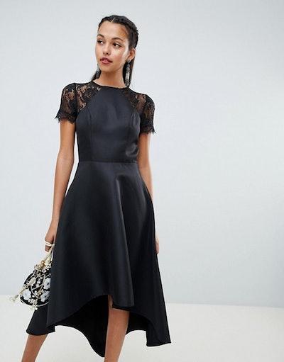 Chi Chi London High Low Midi Dress