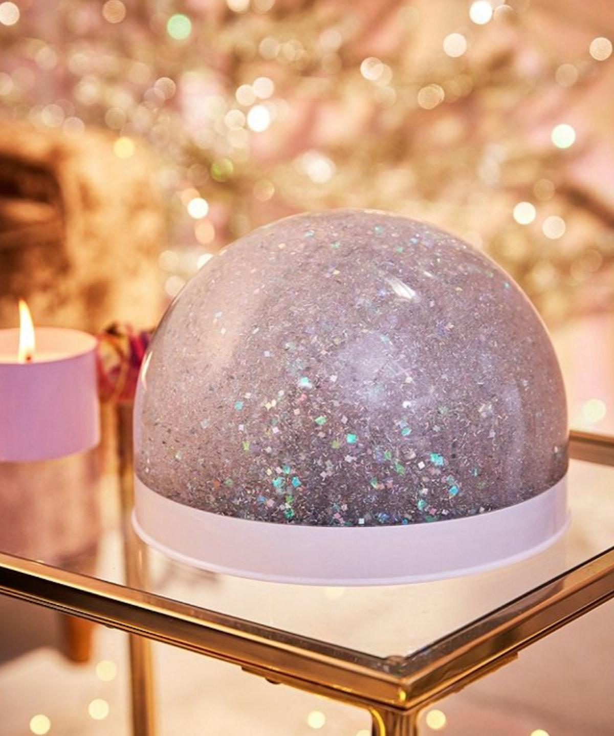 Giant Glitter Snow Globe