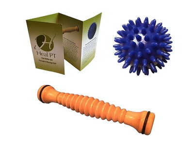 Heal PT Foot Roller and Porcupine Ball