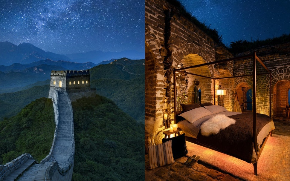 This Airbnb On The Great Wall Of China Is Actually A Contest You Can Win A Sleepover For