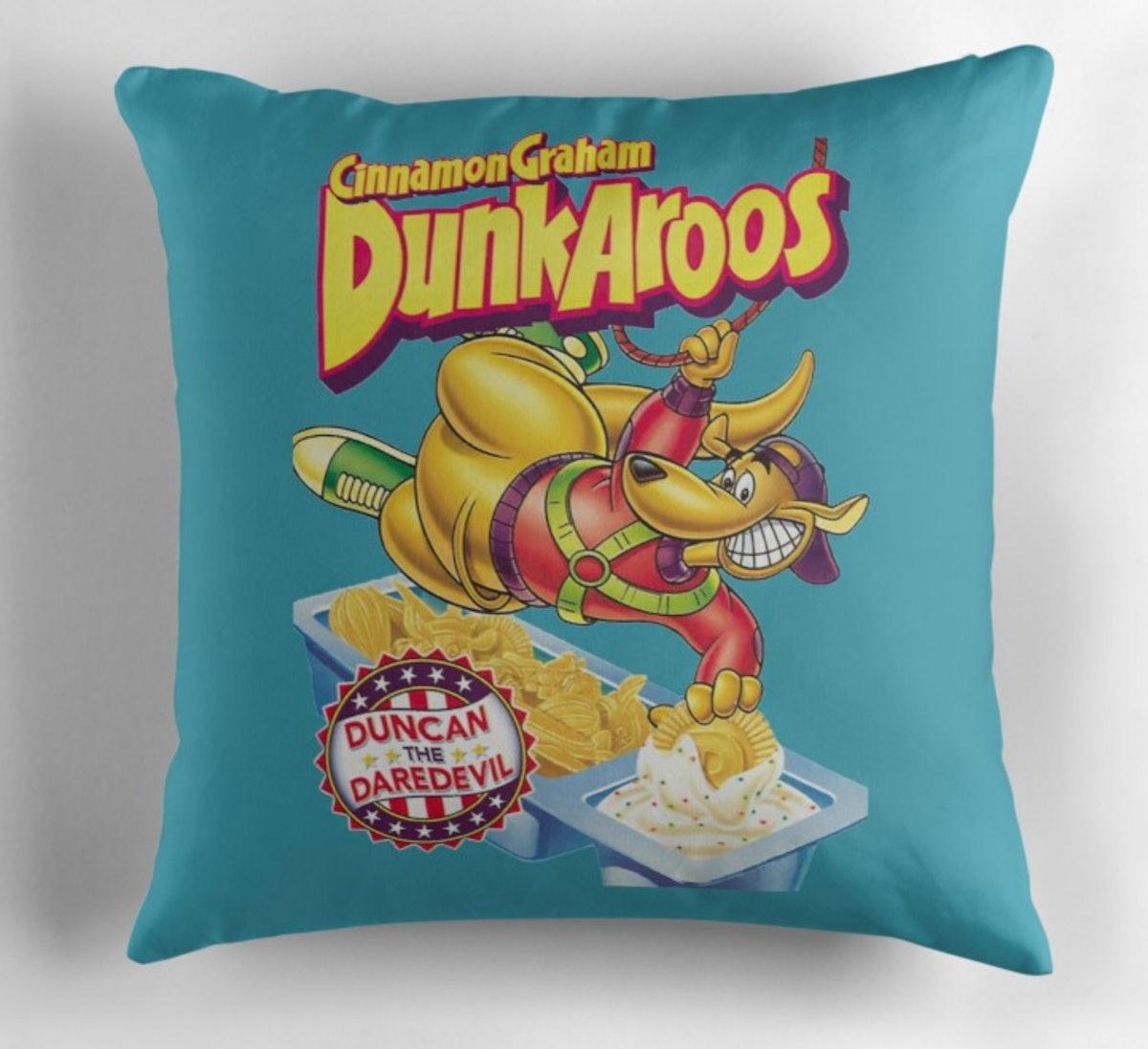 Dunkaroos 90s Throw Pillow