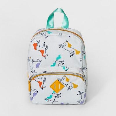 Girls' Unicorn Print Backpack