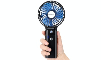 OPOLAR Handheld Power Bank Fan