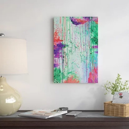 East Urban Home That 90's Throwback Painting Print on Wrapped Canvas