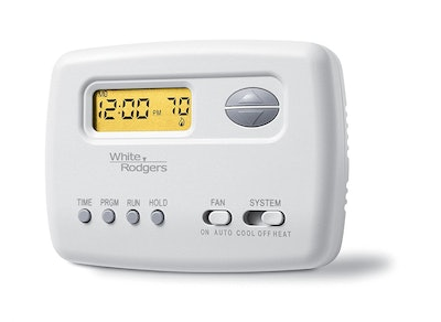 White Rodgers Emerson Single-Stage Programmable Digital Thermostat