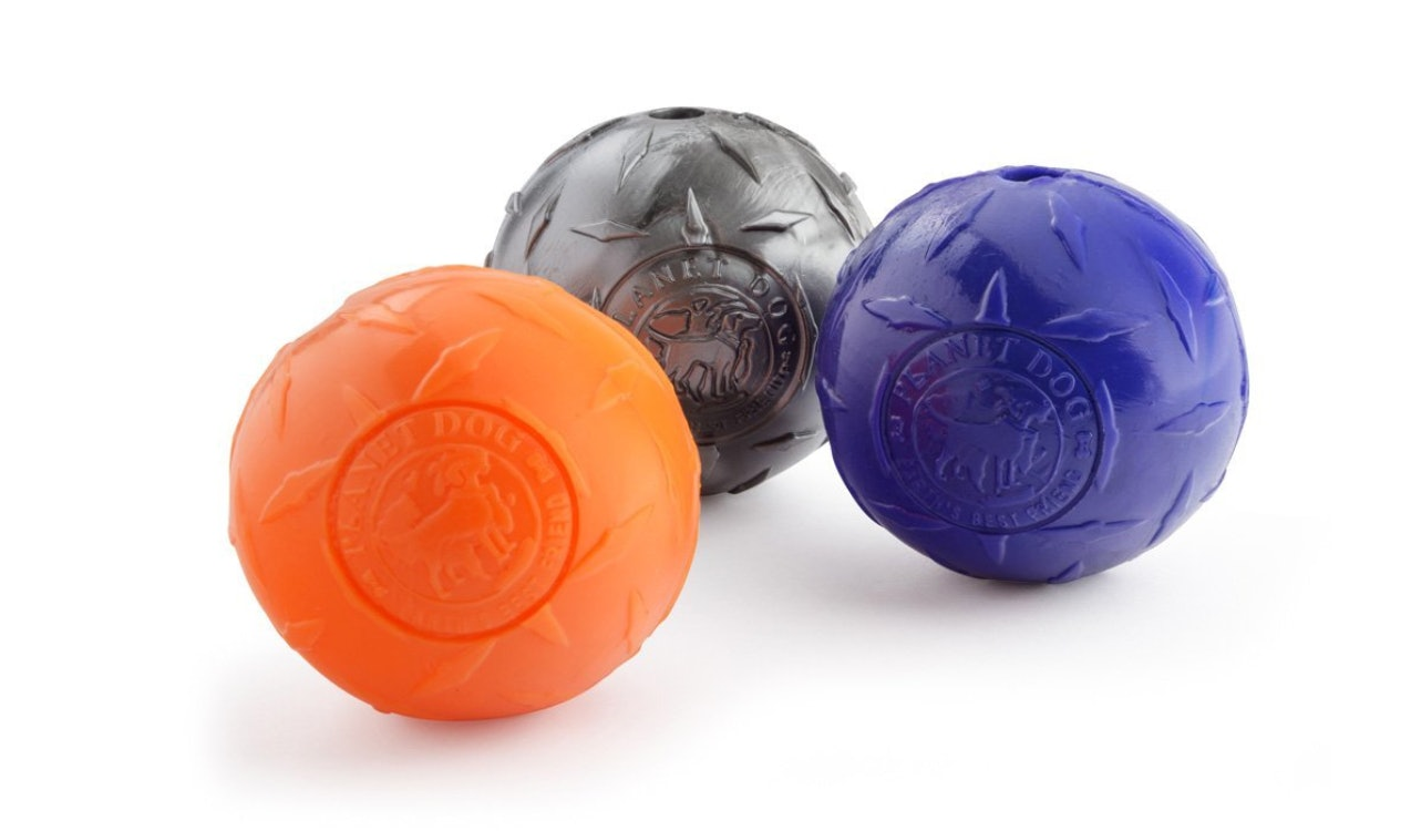 Planet Dog Baseball Dog Toy Made In The USA Durable Orbee Material Dog Ball