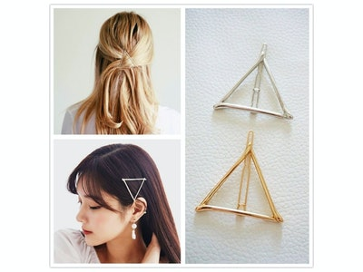 Minimalist Triangle Hair Pin