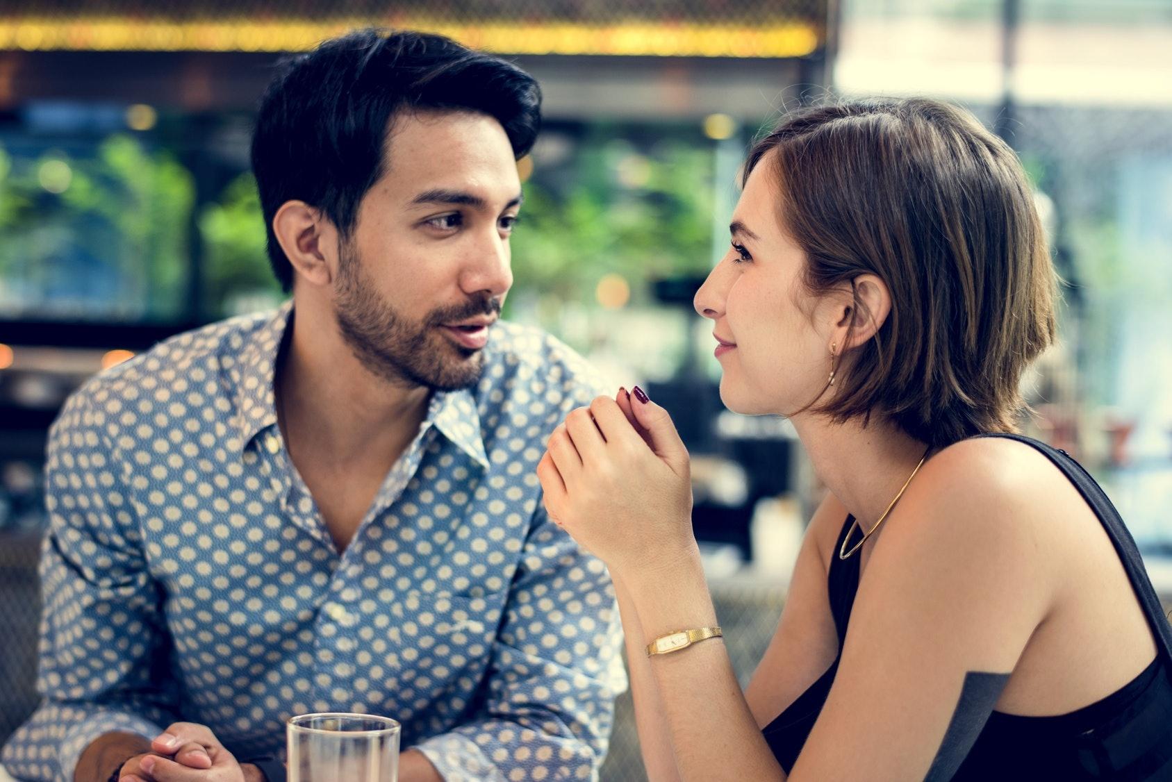 Dream dating a blind man