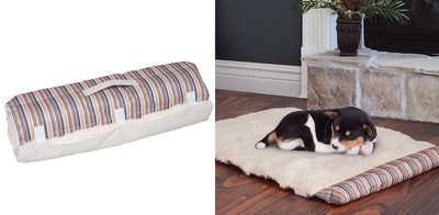 PETMAKER Roll Up Travel Dog Bed