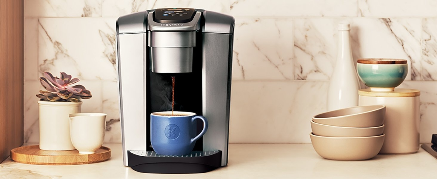 Keurig K-Elite Can Make Iced Coffee & It's The Warm Weather Hack You