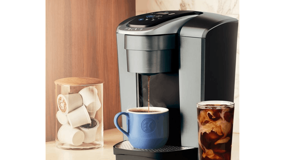 Keurig K Elite Can Make Iced Coffee It S The Warm Weather