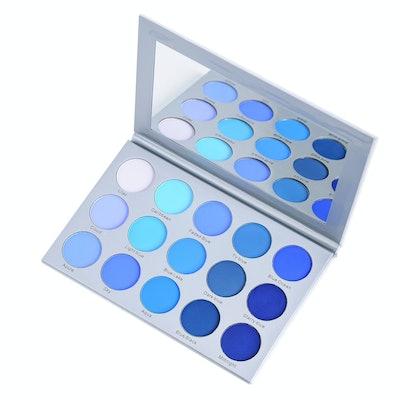 KARA BEAUTY 15 Color Smoky Blue Eyeshadow Palette ES22