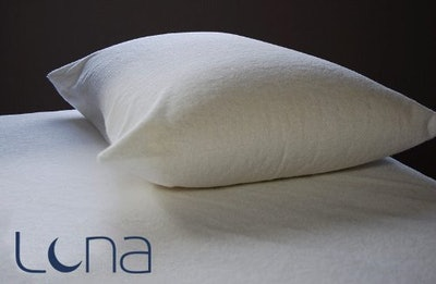Luna Waterproof Pillow Protector, Queen
