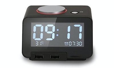 Homtime Multi-function Alarm Clock
