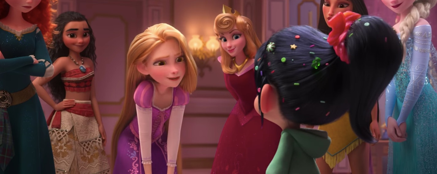 How The Disney Princess Scene In Wreck It Ralph 2 Actually Made It