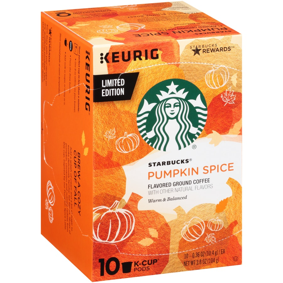 Starbucks Pumpkin Spice Latte Products In Grocery Stores Are