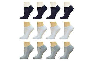 Top Step Women's Low Cut Performance Athletic Socks