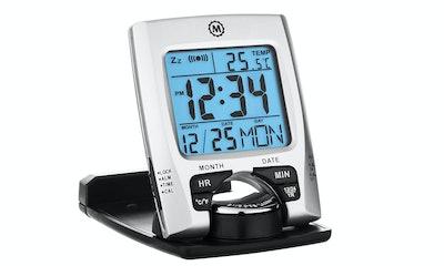 Marathon CL030023 Travel Alarm Clock