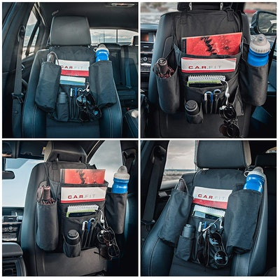 DriverSuperDreams Car Front Seat Organizer With 11 Pockets