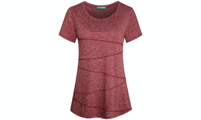 Kimmery Women's Short Sleeve Activewear T-Shirt