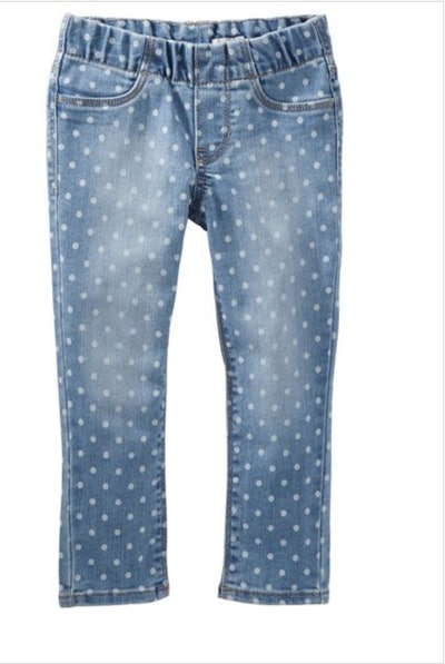Baby Girls' Polka Dot Jeggings