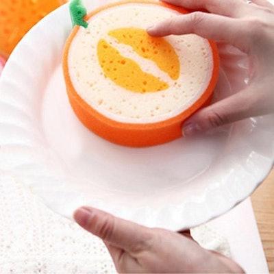 Antibacterial Kitchen Fruit Sponge