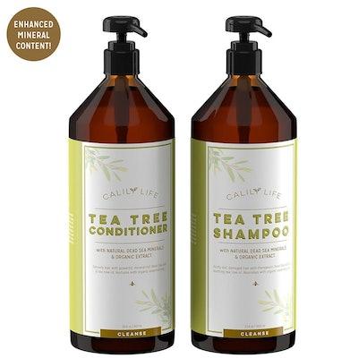 Calily Life Organic Tea Tree Shampoo And Conditioner