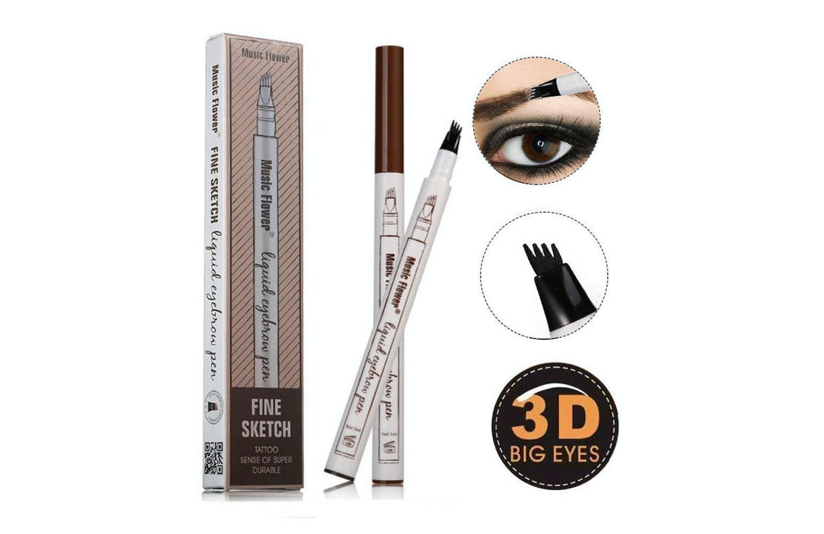 Ethradia Four Tips Long-Lasting Waterproof Brow