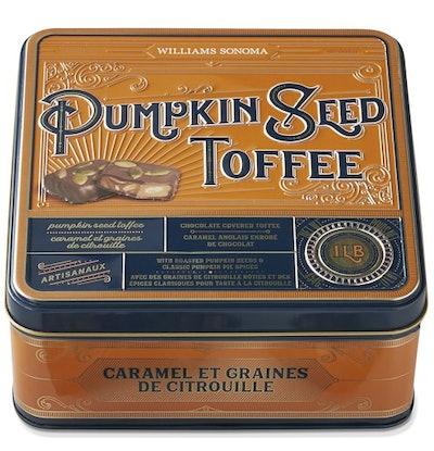 Pumpkin Seed Toffee