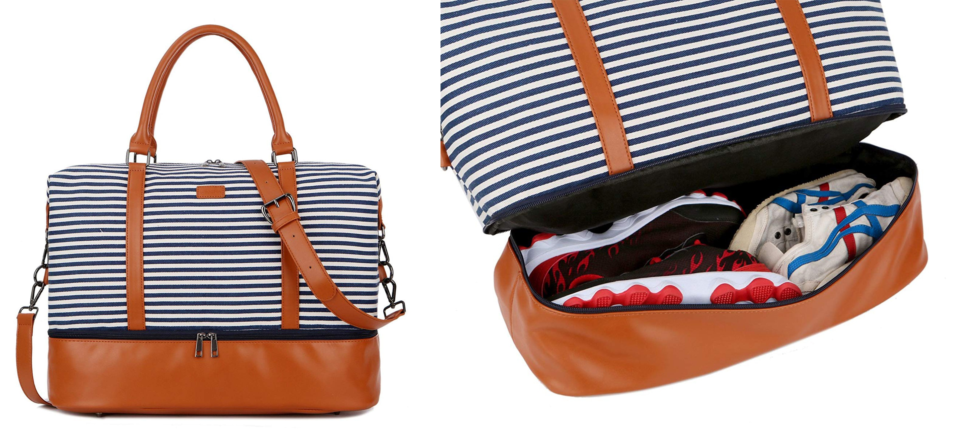 0d43b7fbaa6d The 5 Best Weekender Bags With Shoe Compartments