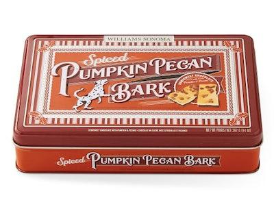 Spiced Pumpkin Pecan Bark