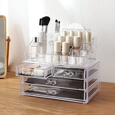 Cq acrylic Makeup Organizer