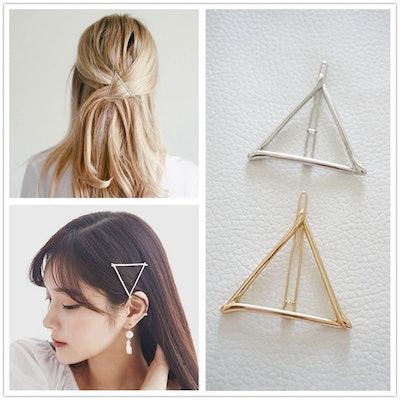 Minimalist Triangle Hair Pin