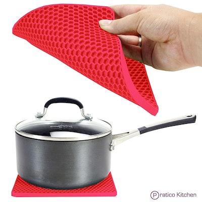 PratiPad Multipurpose Silicone Pot Holders