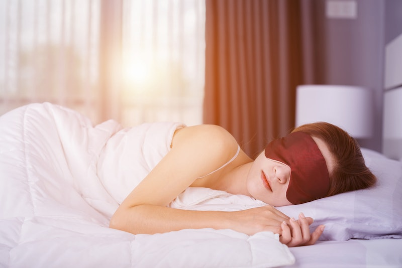 Some experts think weighted sleep masks can help relax the mind and body.