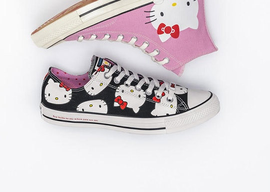 Chuck Taylor All Star OX. The low top lace up shoes come in a black  colorway 65b0e38911
