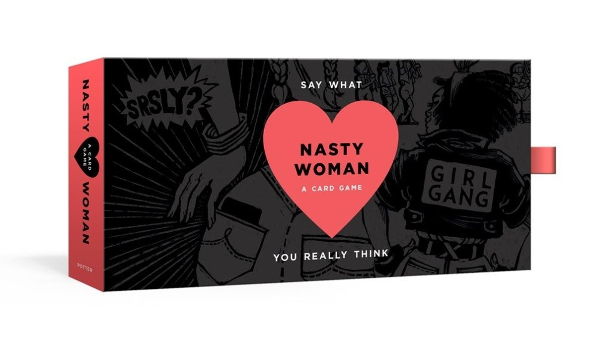 "This ""Nasty Woman"" Card Game Will Make You & Your Friends Laugh Out Loud"