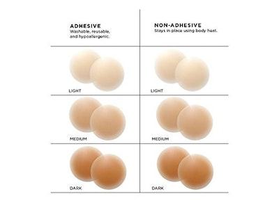 Nippies Hypoallergenic Nipple Pasties With Adhesive Cream