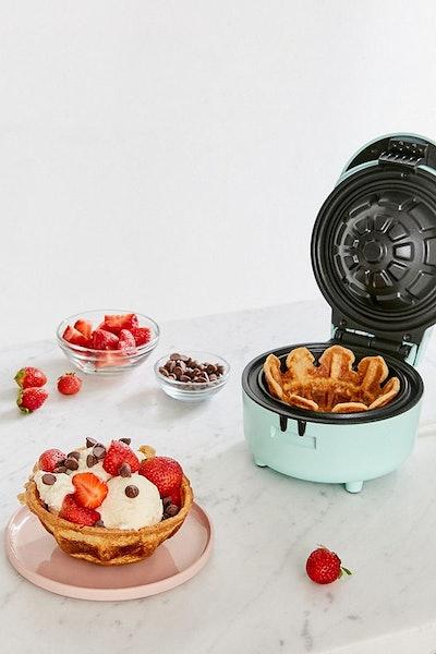 Mini Waffle Bowl Maker