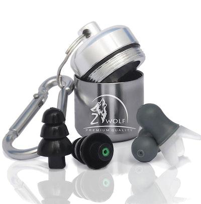 ZWolf, High Fidelity Reusable Earplug Set