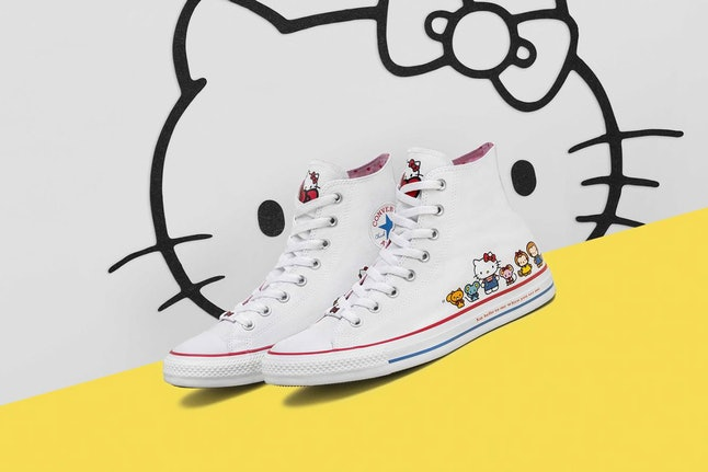 a3bfdf0f939d Hello Kitty Now Has Her Own Converse Shoes   The Kicks Are Too Damn ...