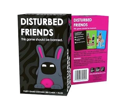 Friendly Rabbit Disturbed Friends