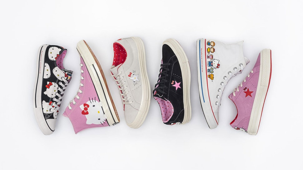 When Can You Buy Converse x Hello Kitty Shoes  These Kicks Are Straight  From Your Childhood 0153953d5fe1