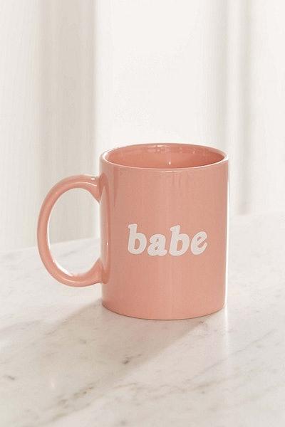 Babe Mug – Light Pink