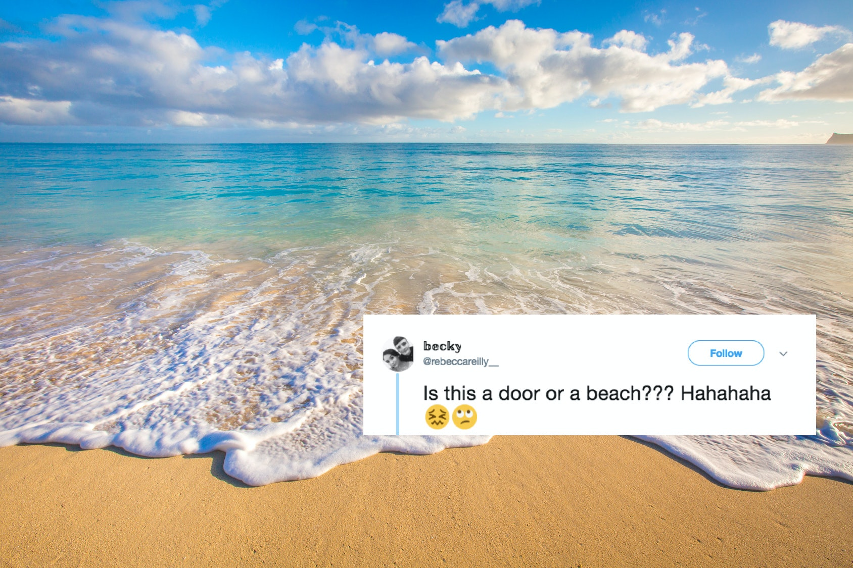 New illusion: the beach or the door 79